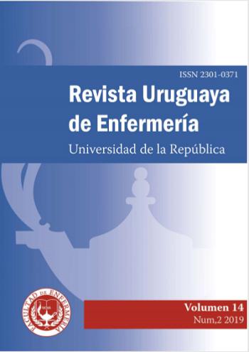 Tapa Revista Uruguaya de Enfermería
