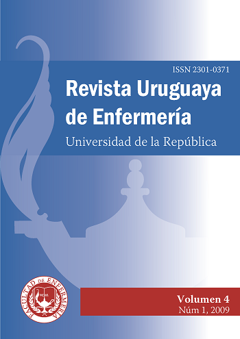 Tapa de la Revista Uruguaya de Enfermería